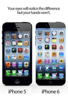 """Nuevo concepto de iPhone 6 sin marco """"vídeo"""""""