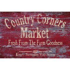 <li>Title: Vintage Signs - Country Corners 2</li><li>Artist: IHD Studio</li><li>Product type: Framed canvas wall art</li>