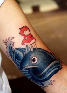 awesome ponyo tattoo alvarez