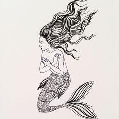 Mermaid   ameliarosejuddillustration.com