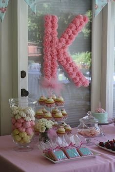 Photo 28 of 63: Shabby chic garden party / Birthday Katelyns 1st Birthday | Catch My Party