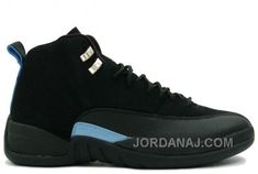 save off 266c2 331b0 Buy Air Jordan XII 12 Retro Mens Basketball Shoes Nubuck Black Blue Big  Discount from Reliable Air Jordan XII 12 Retro Mens Basketball Shoes Nubuck  Black ...