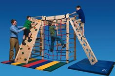 In-FUN-ity Climbing System Indoor play you can customize by Southpaw Indoor Jungle Gym, Kids Indoor Play, Indoor Gym, Outdoor Play, Indoor Climbing, Climbing Wall, Rock Climbing, Toddler Climbing, Kids Gym