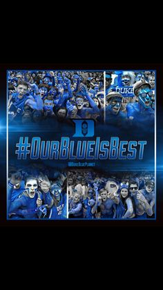 """DUKE BLUE"" IS ALOT GREATER ""BLUE"" THAN ANY OTHER KIND OF ""BLUE"" THERE IS AND YES ""THAT GOES FOR THAT UGLY ASS BLUE THAT THE TAR HEELS WEAR AS WELL"" #DUKEBLUE"