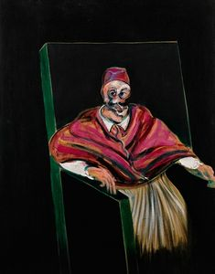 Francis Bacon, Study For a Pope I, 1961