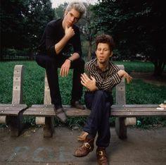 Jim Jarmusch and Tom Waits.