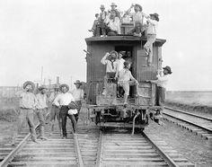 Boy's from the Matador Ranch - 1910 Lubbock, Texas-SR