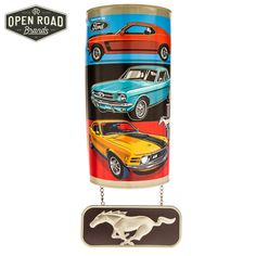 Ford Mustang Arched Metal Wall Decor⎢Open Road Brands