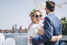 Berlin wedding with boat tour, Berlin Wedding, Boat Tours, Couple Photos, Couples, Civil Wedding, Newlyweds, Wedding Cakes, Wedding Photography, Celebration