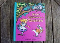 alices adventures in wonderland pop up book robert sabuda  #popupbook