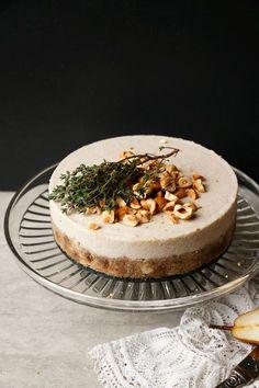 Parsnip Pear Hazelnut Cake (raw, vegan, grain-free)