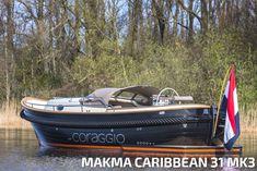 #cabinsloep #kajuistsloep #Caribbean31 #Makma Wooden Boat Plans, Wooden Boats, Speed Boats, Power Boats, Gentlemans Club, Boat Building, Catamaran, Toys For Boys, Canoe