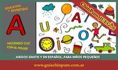 Actividades educativas estimulando la concentración y la motricidad fina. #ChinPum #Juegos #Vocales