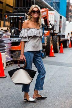 Street style from New York fashion week spring/summer '17 - Vogue Australia