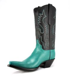 The RIOJA COWBOY Boot available via http://www.etsy.com/listing/96173064/ready-to-wear-the-rioja-cowboy-boot?