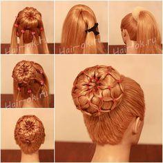 Sock Bun Hairstyle  https://www.facebook.com/UsefulDiy/photos/a.529816110375096.1073741825.521953004494740/811175348905836/?type=1