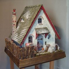 jill barklem doll house | This miniature 'Mausehaus' was created by Rita Pillmann in Germany ...