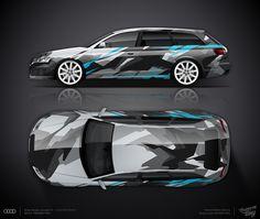"Design consept Audi RS6 Avant #4 | Студия дизайна ""ТРАФАРЕТ-ТАТУ"""