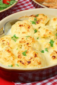 Oven-Roasted Cauliflower with Garlic, Olive Oil and Lemon Juice ~ Very tasty and easy to make!