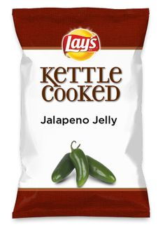 Wouldn't Jalapeno Jelly be yummy as a chip? Lay's Do Us A Flavor is back, and the search is on for the yummiest flavor idea. Create a flavor, choose a chip and you could win $1 million! https://www.dousaflavor.com See Rules.