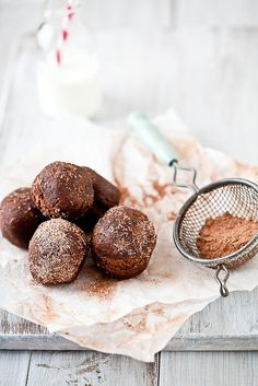 Gluten Free Candy Filled Chocolate Cake Doughnuts