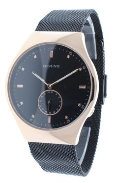BERING 70142-262 Men's Smart Traveler Bluetooth Watch Automatic Time Sync Rose Gold CaseBERING 70142-262 Men's Smart Traveler Bluetooth Watch Automatic Time Sync Rose Gold Case