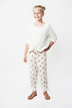 Pajamas for girls in a sweet print and an even better cause. Little french bulldogs donning red sunglasses perch along dotted, pale pink lightweight flannel.