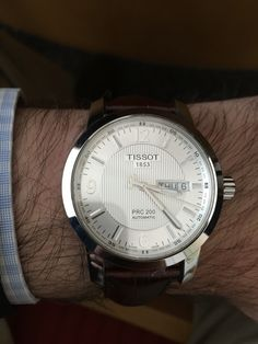 Tissot Automatic PRC200. Quality machinery, elegance, affordability that overpays quality.