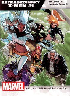 Extraordinary X-Men #1 - Humberto Ramos