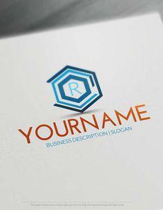 Online Geometric Company Logo design - Make a Logo with our Free Logo Maker