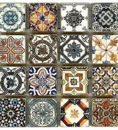 The Saybrook Deco Dots by StoneImpressions consists of 16 vibrant, Portuguese inspired designs to create a beautiful motif. Deco dots may also be ordered individually in any size.