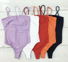 Basic Outfits, Teen Fashion Outfits, Trendy Outfits, Cute Outfits, T Shorts, Bodysuit Fashion, Swimming Costume, Swimsuits, Bikinis