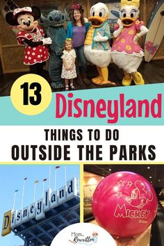 """No park ticket? No problem! There's lots to do at outside of Disneyland that still offers you that Disney magic! Get the tips on Disneyland resort hotels, character dining and souvenir shopping on your """"off-day"""" from the Disney parks in California."""