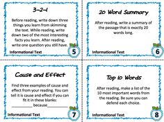 Not the most interactive, but if you have to use the textbook, this is a great way to mix it up!-----Textbook Task Cards: 20 simple and FREE task cards that help you bring Common Core ELA standards to ANY science or social studies text book. 6th Grade Social Studies, 6th Grade Ela, 4th Grade Reading, Teaching Social Studies, Fourth Grade, Common Core Ela, Study Skills, Reading Workshop, Middle School Science
