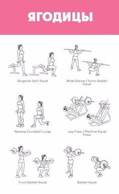 Эффективные упражнения, чтобы привести в порядок все свое тело