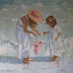 """""""Shelling with Mom"""" - Joyce Norwood"""