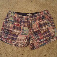 Madras Shorts Really adorable! Good condition. Light weight. Shorts