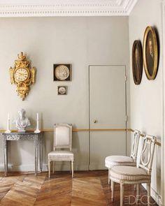 That's the colour. Andrew Gn's Paris Apartment - ELLE DECOR