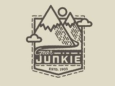 Gear Junkie Patch by David Zimmerman