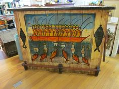 Spectacular Signed Peter Hunt Bar And Barstools