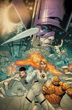Fantastic Four By Philip Tan
