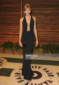 Karlie Kloss attends the 2014 Vanity Fair Oscar Party hosted by Graydon Carter on March 2, 2014 in West Hollywood, California.