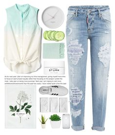 """""""Roll it up, 'cause we so ill"""" by iamtaylorswift ❤ liked on Polyvore featuring Gap, Dsquared2, Georg Jensen, Surya, Dr. Barbara Sturm, adidas, Umbra and Alöe"""