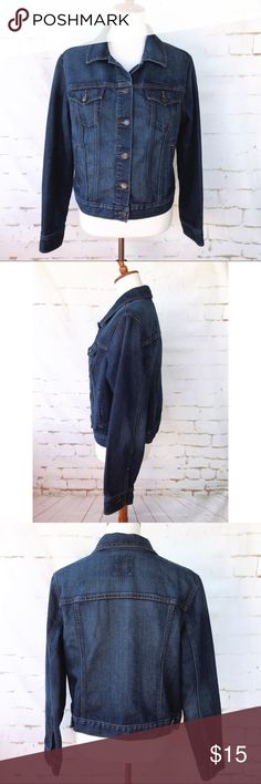 Old Navy Woman's Size X Large Jean Jacket Please see pictures for measurements and materials Old Navy Jackets & Coats Jean Jackets