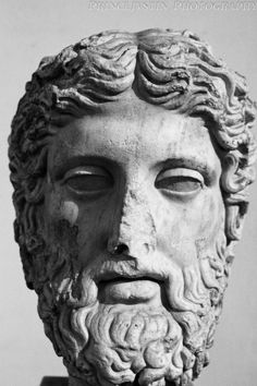 Head of Zeus, National Roman Museum - Baths of Diocletian