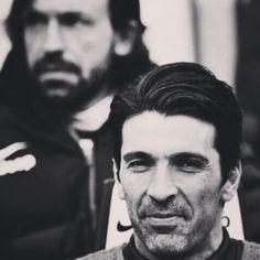 Gigi Buffon and Andrea Pirlo