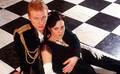 Kevin McKidd and Helen McCrory in Channel 4 Anna Karenina