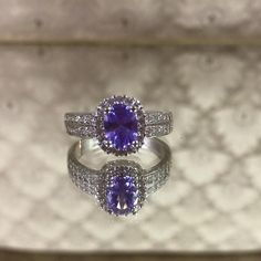 Amethyst ring uncovered from the heart of Charmed Aroma candles! You could be the next winner!
