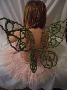 Crochet Fairy Wings