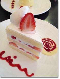Strawberry shortcake by Miu, Kobe, Japan 美侑のケーキ hmmmmmmmm